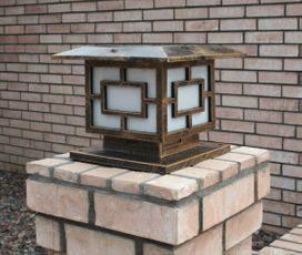 Premium 36 LED Solar Light for Square Posts or Pillars