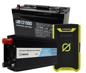 Portable Power Packs, Batteries & Inverters