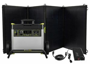 Goal Zero Yeti 3000X Ultimate Solar Generator Kit - Features (3) Nomad 200 Watt Solar Panels