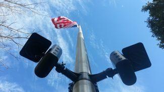 Solar Flagpole Lights - Solar Flag Pole Lighting Kits