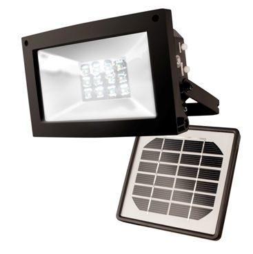 Maxsa 40330 High Output Solar Flood Light - Solar Landscape Light