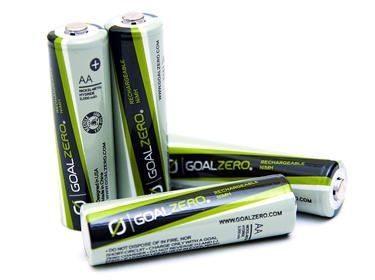 Goal Zero 4pk AA Rechargeable Batteries