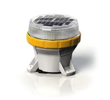 Carmanah LED Solar Marine Lantern in Yellow - For Buoys and Beacons
