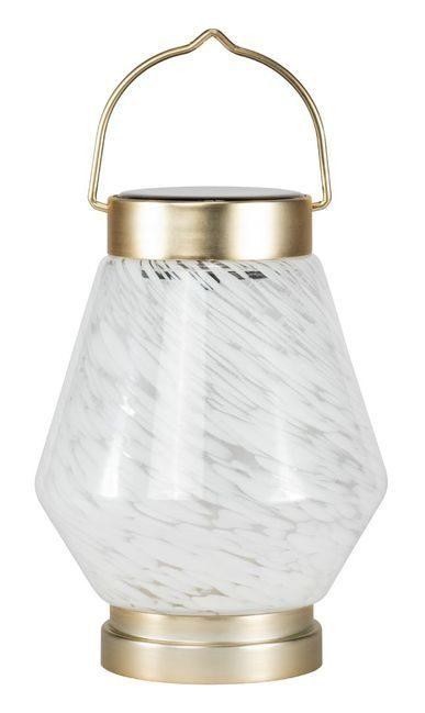 Allsop Boaters Glass Cone Solar Lantern