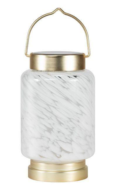 Allsop Boaters Glass Cylinder Solar Lantern