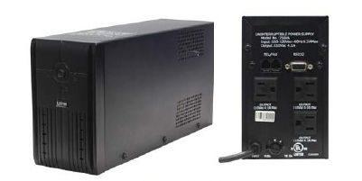 Universal 120VAC UPS Battery - 650VA - Uninterruptible Power Supply