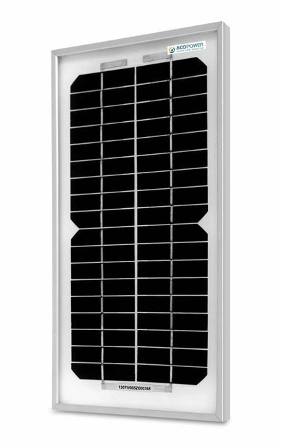 ACO Power 5 Watt Monocrystalline Solar Panel