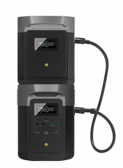 EcoFlow Delta Max Power Station & Expansion Battery Kit