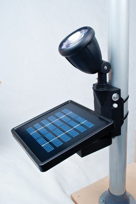 Solar-Powered LED Flag Light - By Maxsa Innovations