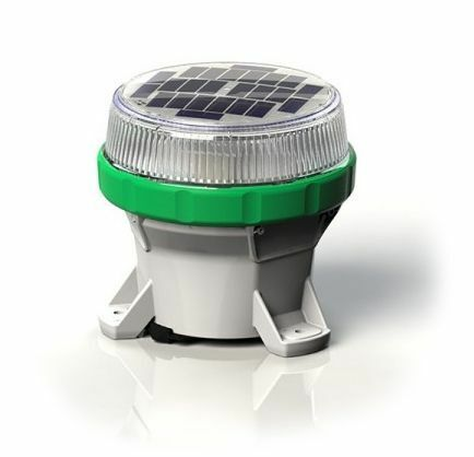 Carmanah LED Solar Marine Lantern in Green - For Buoys and Beacons