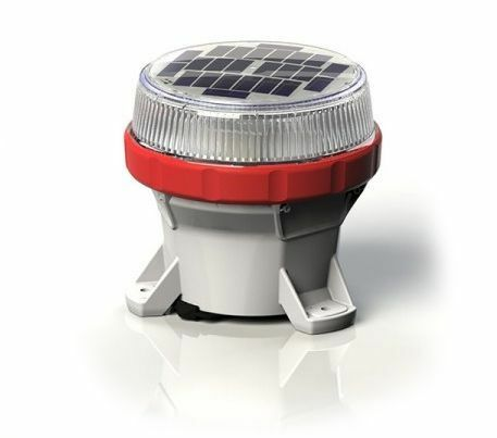 Carmanah LED Solar Marine Lantern in Red - For Buoys and Beacons