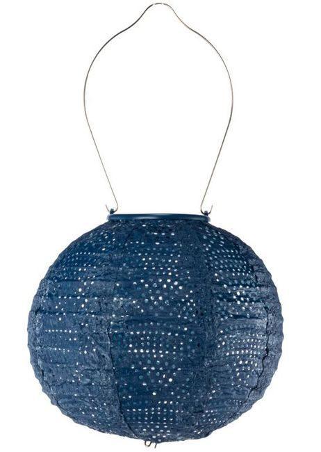 Soji Stella Tyvek Solar Lantern - Ultramarine Globe