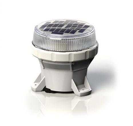 Carmanah LED Solar Marine Lantern in Clear - For Buoys and Beacons