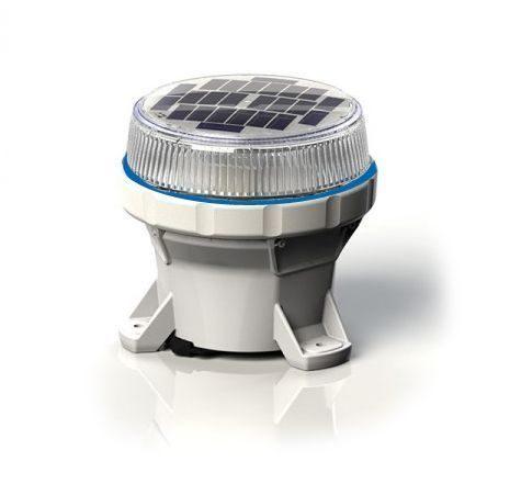 Carmanah LED Solar Marine Lantern in Blue - For Buoys and Beacons