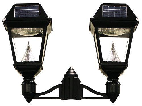 Imperial II Solar Lantern - 3 Fitter Double Head