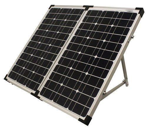 UPG 80 Watt Solar Panel with Stand