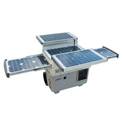 Solar e Power Cube 1500  - Portable Solar Generator - 1500 Watt Inverter / 55 Ah Battery - Model# 2546