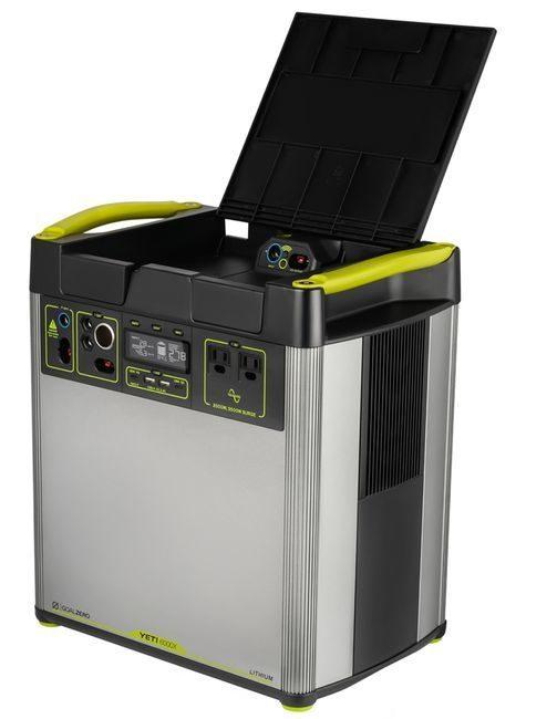 Goal Zero Yeti 6000X Solar Generator Kit with (3) Boulder 200 Briefcase Solar Panels
