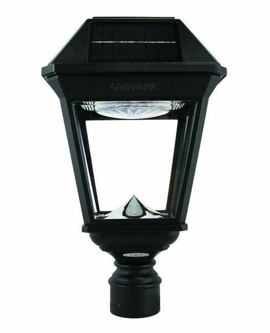 Gama Sonic Imperial III Commercial Solar Post Light