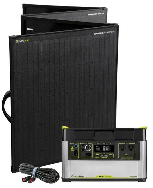 Goal Zero Yeti 1000X Ranger 300 Solar Generator Kit