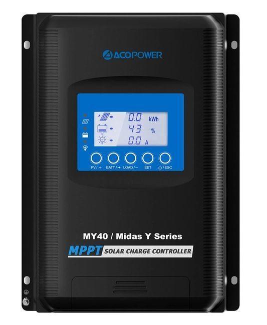 ACO Power Midas 40A MPPT Solar Charge Controller