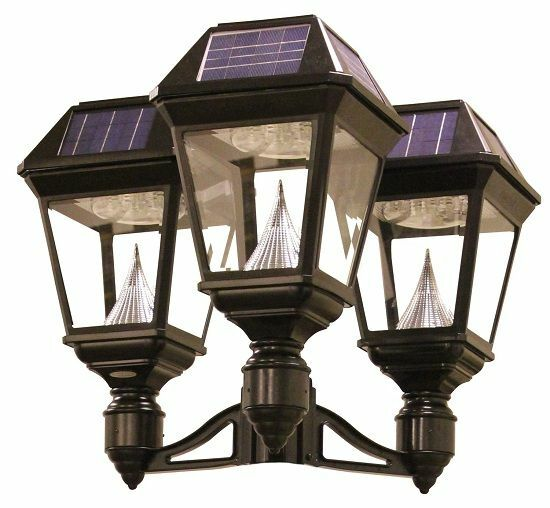 Imperial II Solar Lantern - 3 Fitter Triple Head