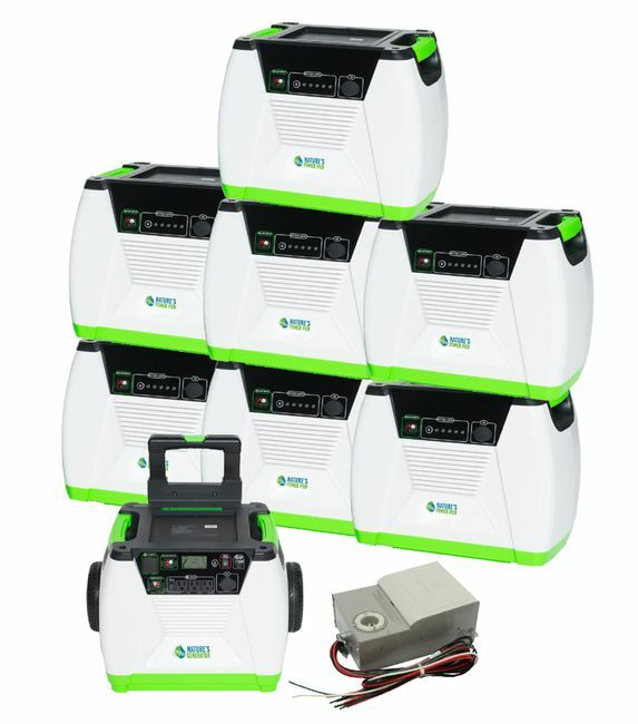 Natures Generator Max 9.1 kWh Power Kit