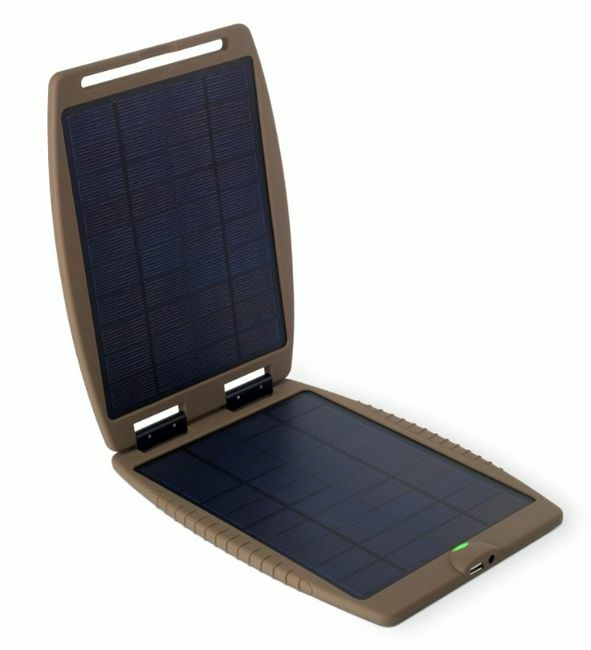SolarGorilla Tactical Solar Panel for Cellphones, Laptops and More