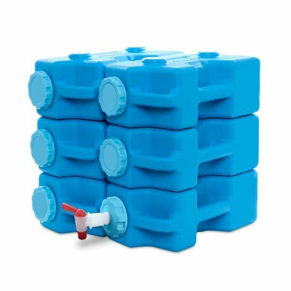 AquaBrick Food and Water Storage Container - 6 Pack