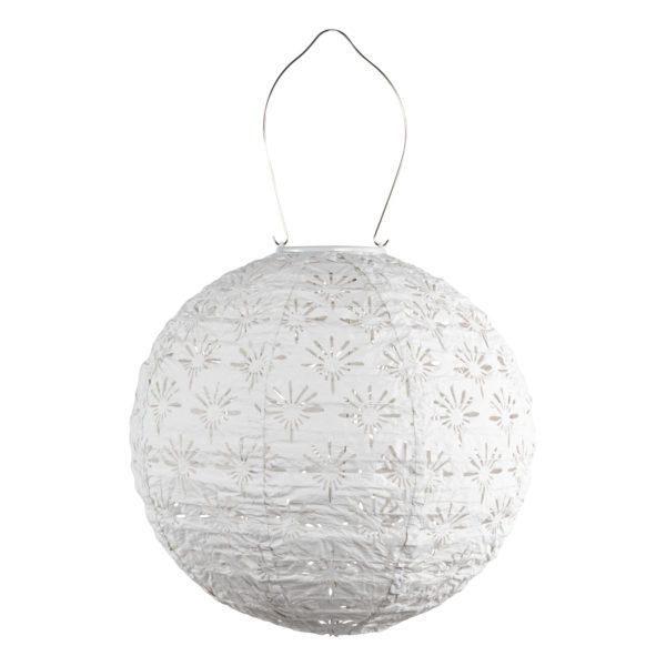 Soji Stella Deco Globe 12 Tyvek Solar Lantern