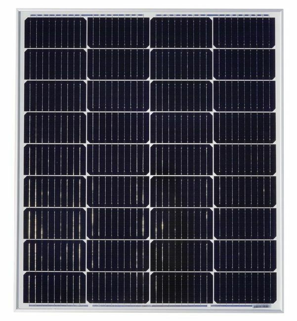 Grape Solar 100W Mono-Crystalline Solar Panel for Residential and Commercial Use
