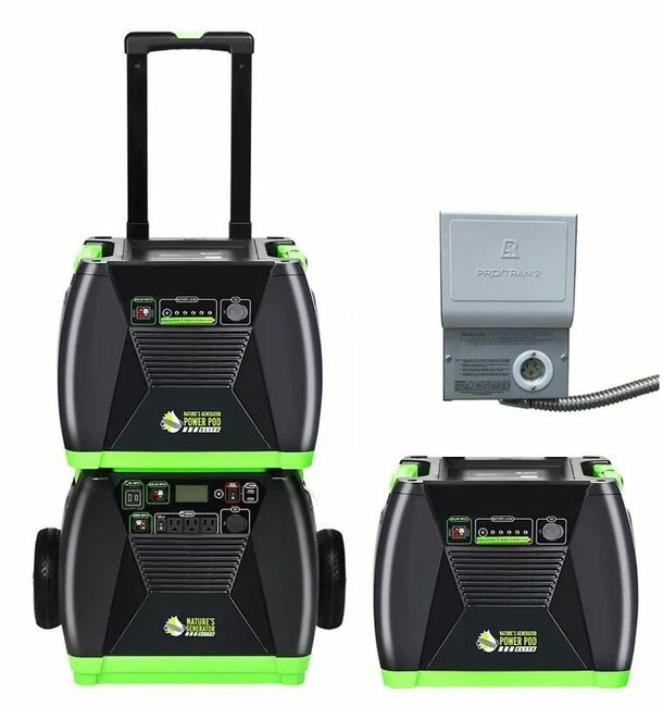 3.6 kWh Home Energy Storage Kit - Featuring the Natures Generator Elite