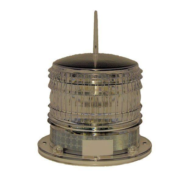 Solar Marine Beacon Light - Flashing Operation