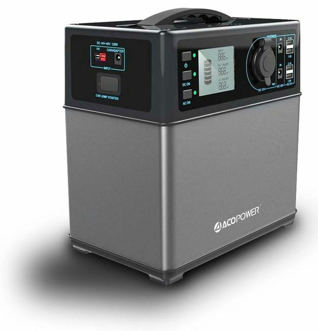 ACO Power 400 Wh Portable Solar Generator