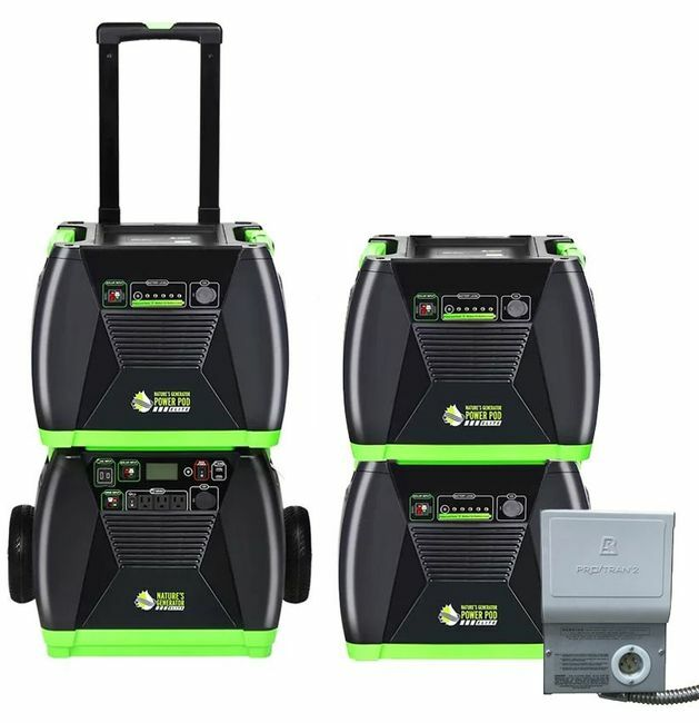 4.8 kWh Home Energy Storage Kit - Featuring the Natures Generator Elite