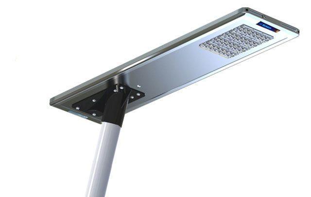 Earthtech Products 50 Watt LED Ultra High Powered Solar Street Light - 8000 Lumens