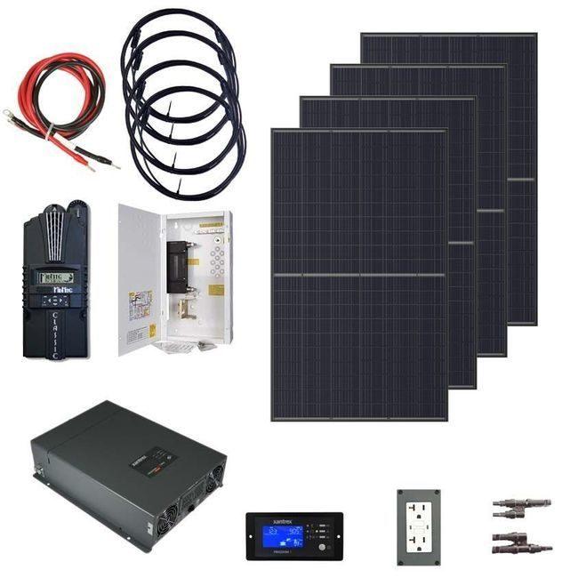Earthtech Products 2000 Watt (4000W Surge) Solar Kit with 1320 Watts of Solar Power
