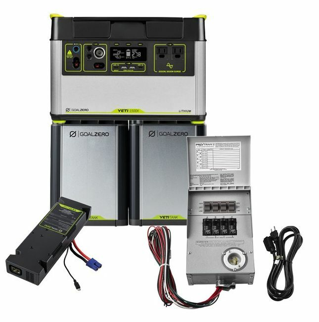 3.9 kWh Home Energy Storage Kit - Featuring the Yeti 1500X - V2