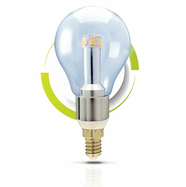 GS Solar LED Light Bulb - A60 Warm White 2700K