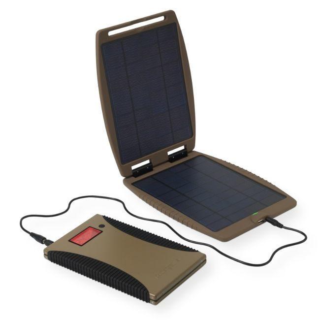 PowerGorilla and SolarGorilla Tactical Solar Recharger Kit