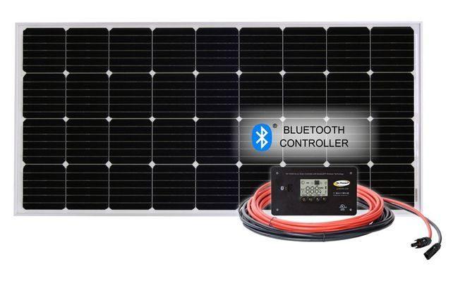 190 Watt Overlander Solar Generator Kit with Charge Controller