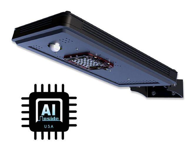 Solar Power AI-Smart Cree LED Area Parking Light - 1600 Lumens
