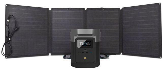 EcoFlow Delta Mini Solar Generator Kit
