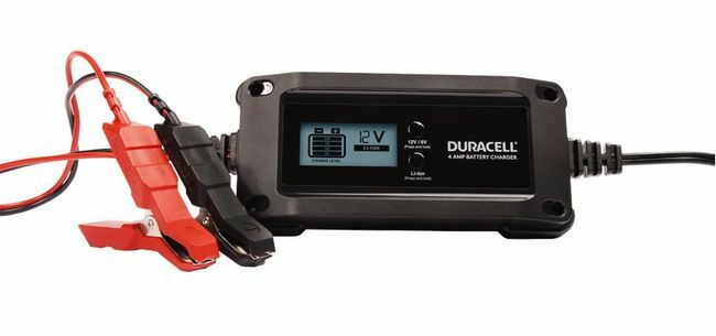 Duracell 4 Amp Charger and Maintainer