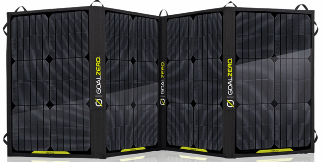 Nomad 100 Solar Panel - 100 Watt Flexible Solar Panel By Goal Zero