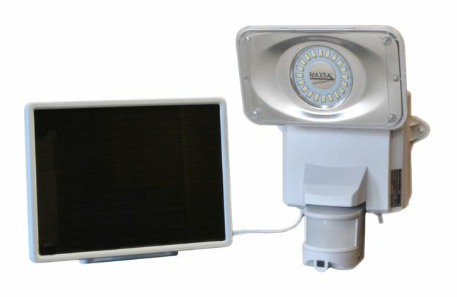 Solar Powered Camera and Security Light 1100 Lumens