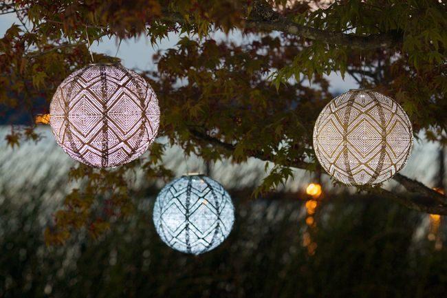 Allsop Home & Garden -  Soji Stella Solar Market Lanterns