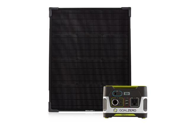 Goal Zero Yeti 150 Portable Power Station & Boulder 50 Solar Panel Kit