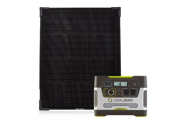 Goal Zero Yeti 400 Portable Power Station & Boulder 50 Solar Panel Kit