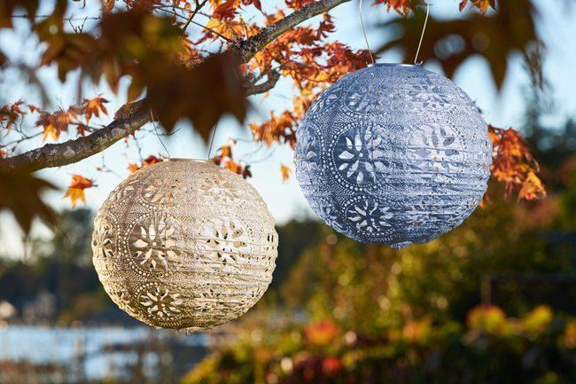 Stella Solar Lantern Boho Globe